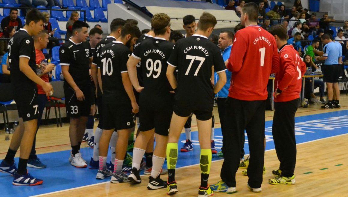 Echipa de handbal juniori 1, înfrângere şi cu LPS Suceava, la Cluj-Napoca!