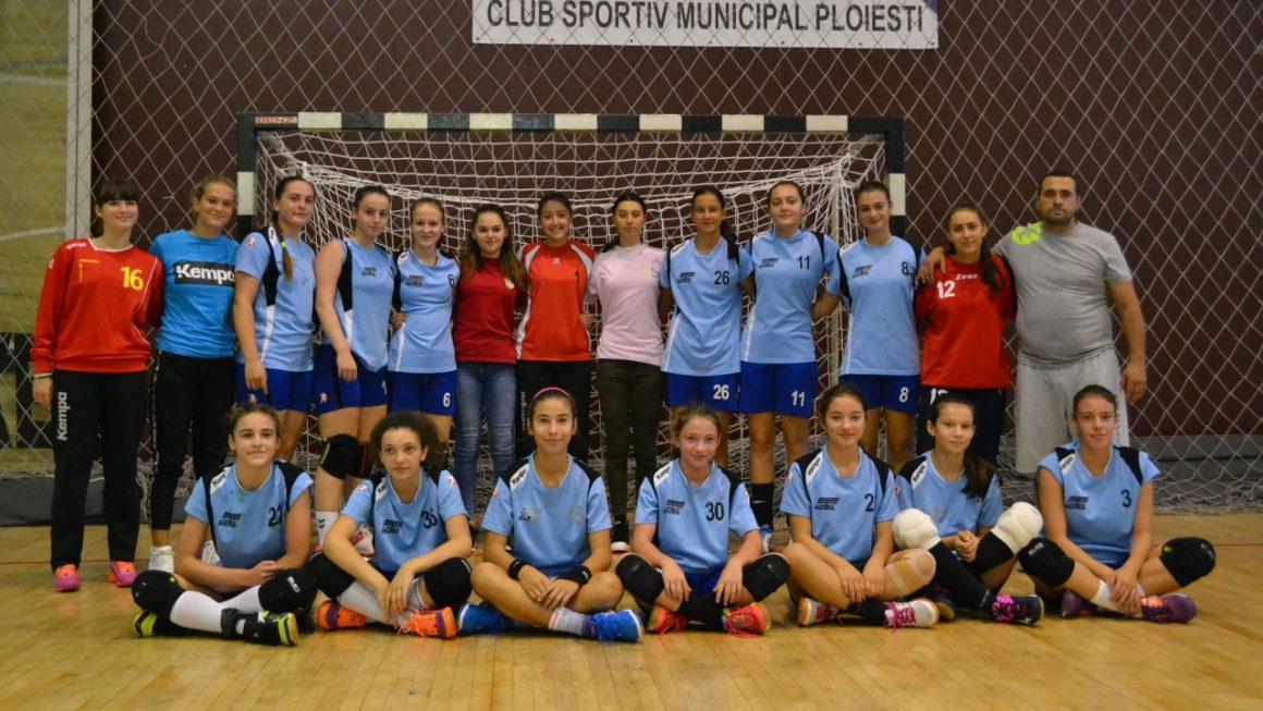 Echipa de handbal junioare 3, victorie clară în derbiul cu Activ Plopeni!