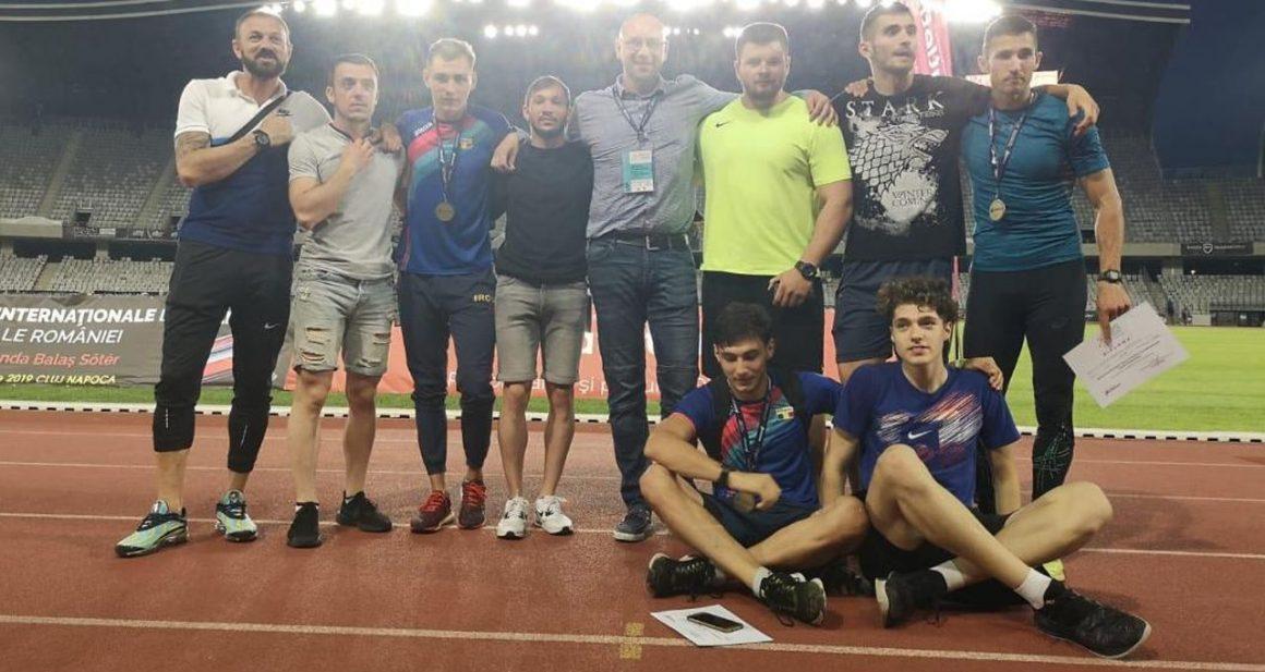 """Atleţii de la CSM Ploieşti, de 4 ori pe podium la """"internaţionalele"""" României, de la Cluj!"""