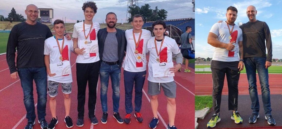 Atleţii de la CSM Ploieşti, de două ori campioni naţionali de tineret, la Piteşti!