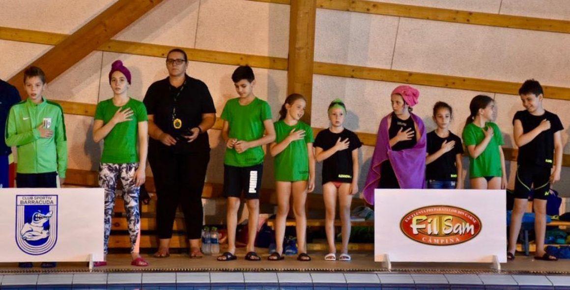 Înotătorii de la CSM Ploieşti, 15 medalii obţinute la Cupa Seva, de la Câmpina!