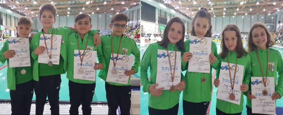 """Sportivii de la CSM Ploieşti, 3 medalii cucerite la Campionatul Naţional de înot pentru copii """"10-11 ani""""!"""