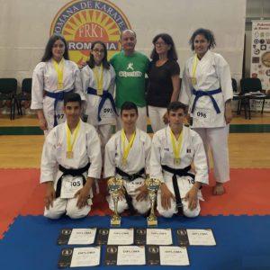 Medalii europene pentru sportivii secţiei de karate a CSM Ploieşti!