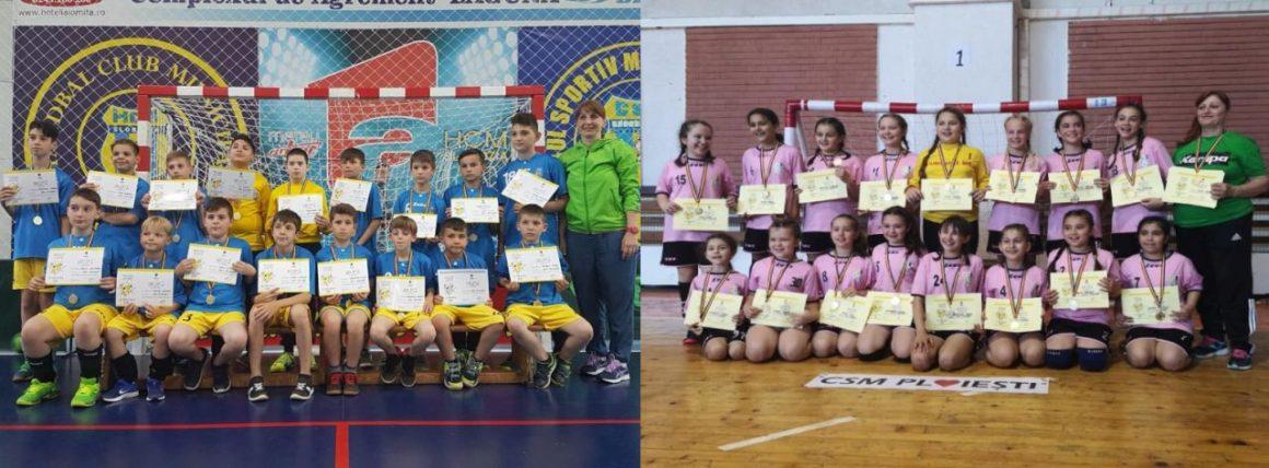 Fetele şi băieţii de la CSM Ploieşti, premiaţi la Festivalul Naţional de Minihandbal!