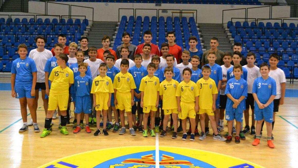 Echipele de handbal juniori ale CSM Ploieşti, restart în perspectiva sezonului 2019-2020!