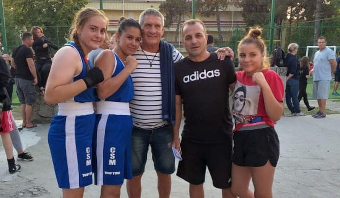 Fetele maestrului Titi Tudor, 3 medalii la Campionatul Naţional de Box Feminin, de la Eforie Nord!