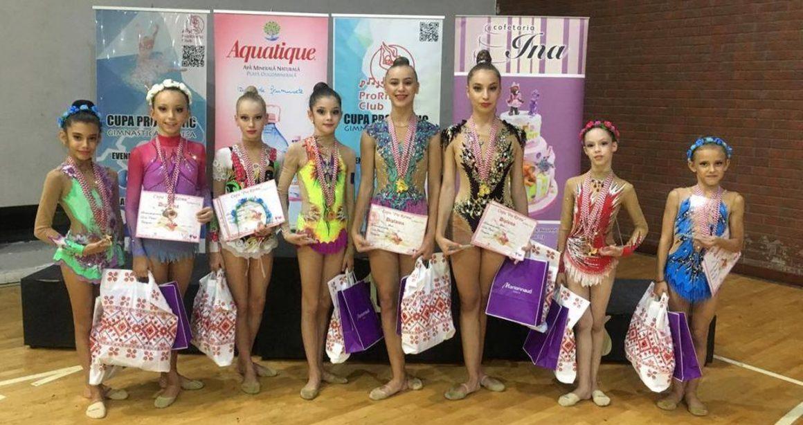 Gimnastele de la CSM Ploieşti, 33 de medalii obţinute la Cupa Pro Ritmic!