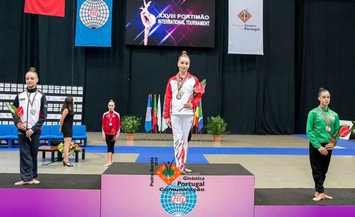 Miruna Ciocîrlan, 4 medalii obţinute în cadrul Turneului Internaţional de la Portimao!
