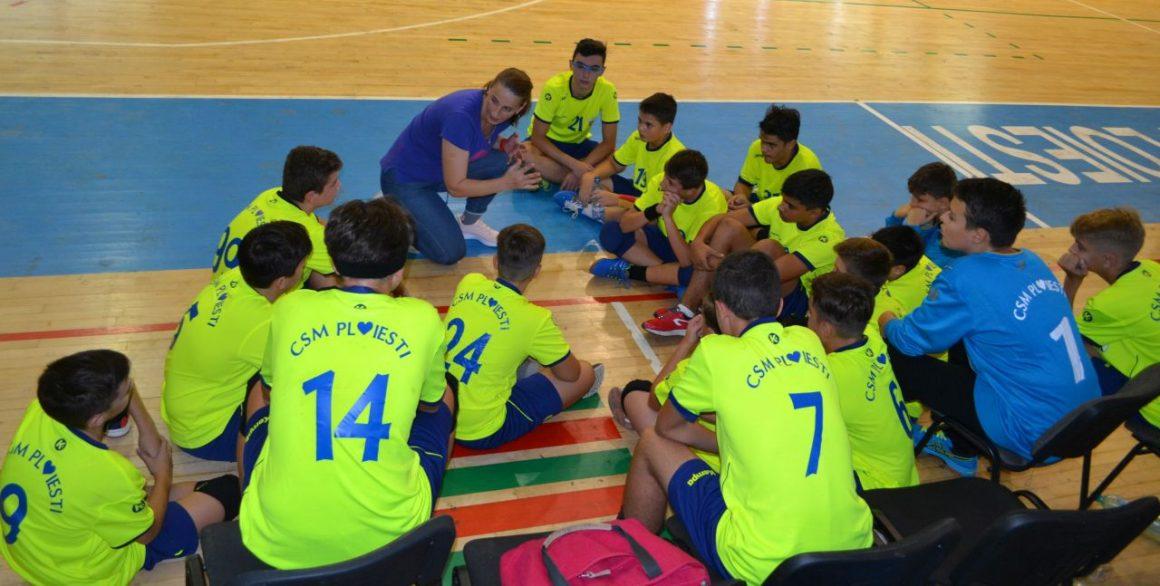 Weekend cu două victorii pentru echipele de handbal juniori ale CSM Ploieşti!