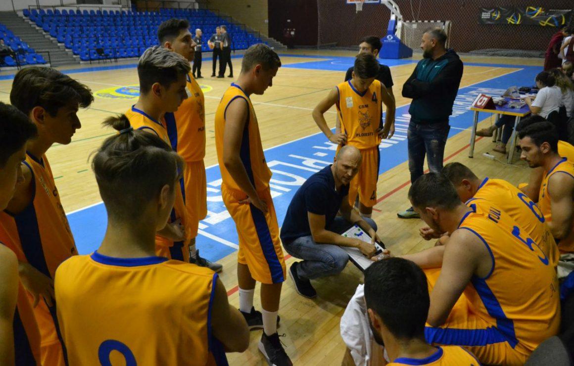 Înfrângere la Târgu Mureş pentru echipa de baschet masculin a clubului