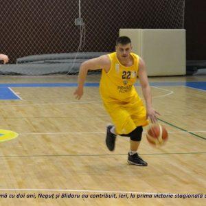 CSM Ploieşti a revenit cu victorie în Liga I de baschet masculin!