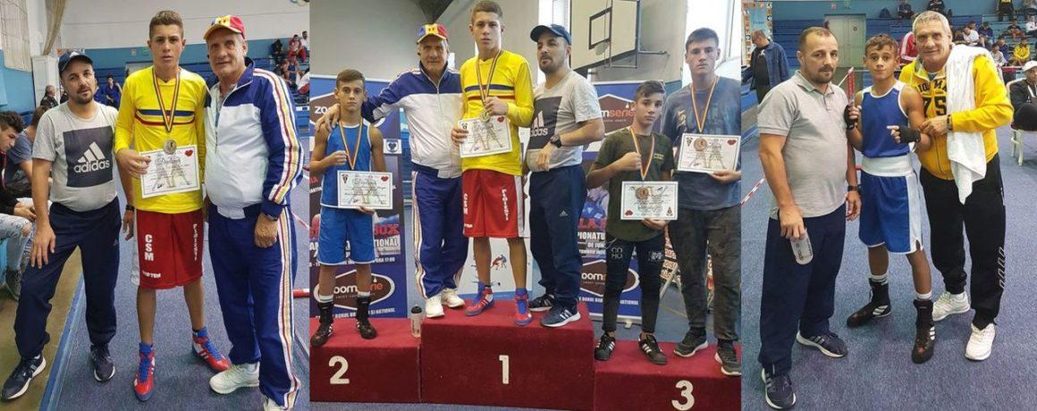 Boxerul Iulian Dumitrescu a devenit campion naţional de juniori, la Brăila!