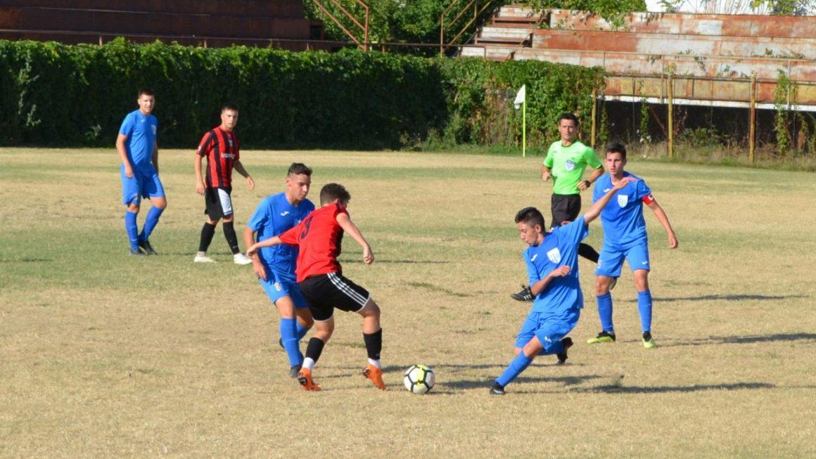 Etapă fără puncte pentru echipele de fotbal juniori ale clubului