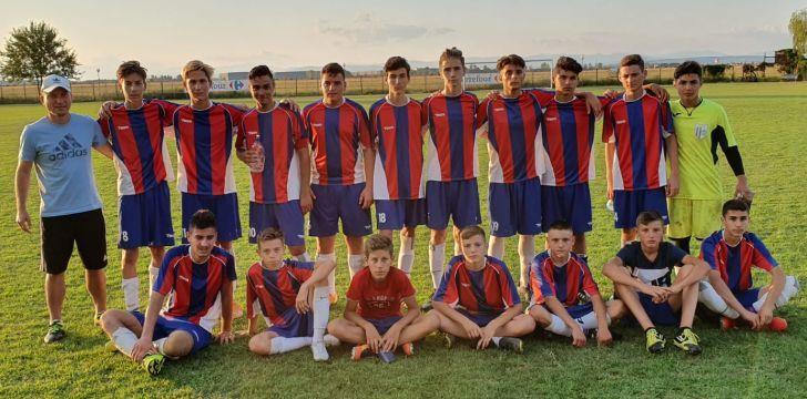 Etapă pozitivă pentru echipele de fotbal juniori A şi B ale CSM Ploieşti!