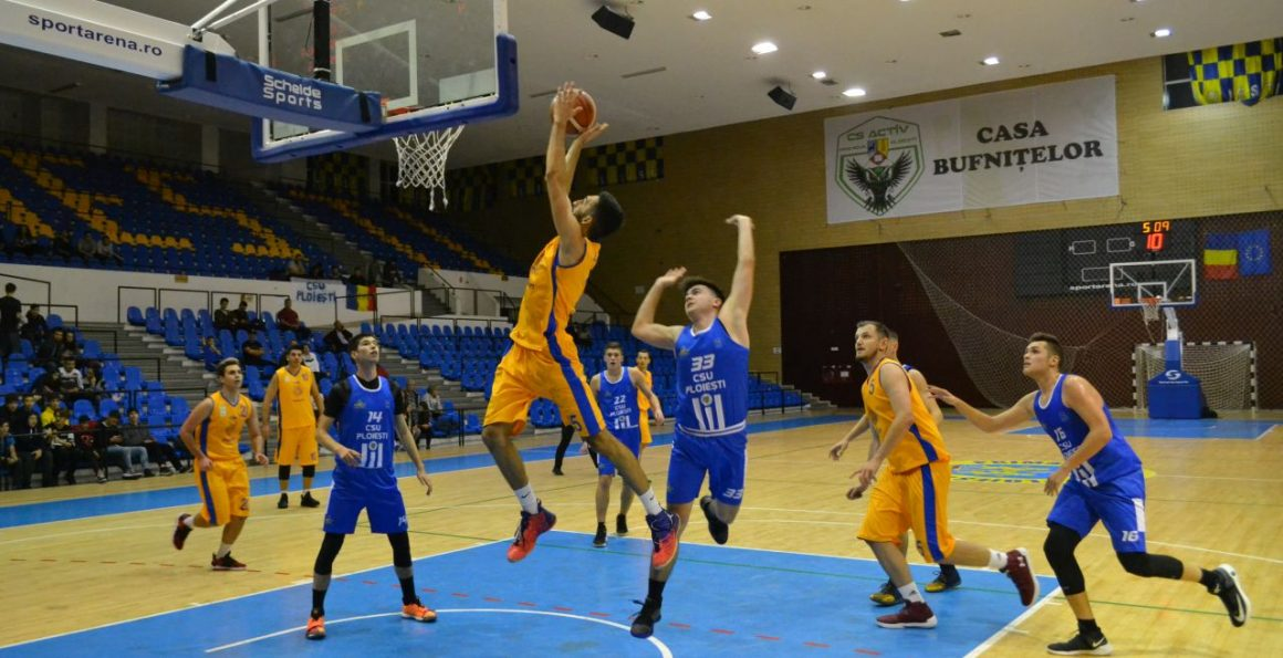 Echipa de baschet masculin a CSM Ploieşti, victorioasă în derbiul cu CSU Ploieşti!