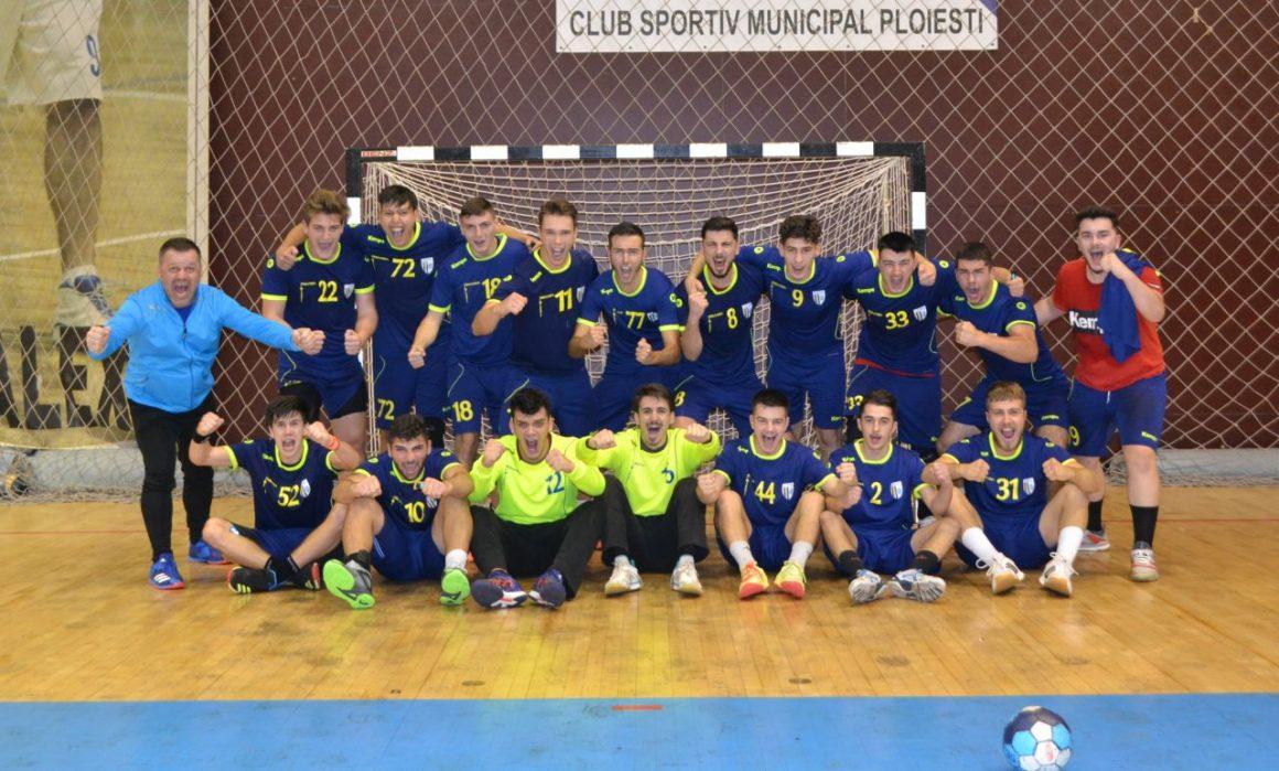 Echipa de handbal juniori 1 a clubului, victorie clară în derbiul cu CSM Bucureşti!