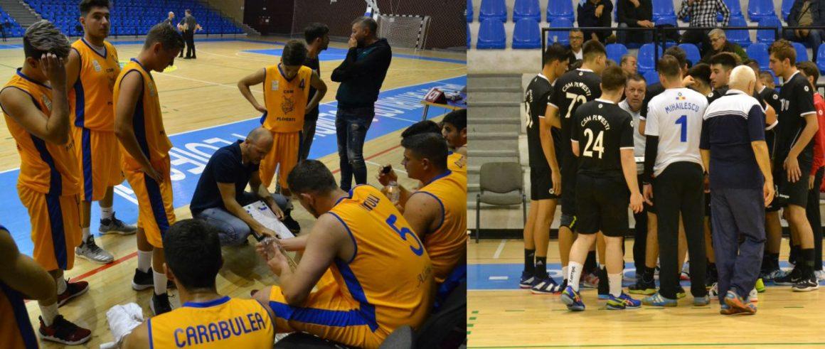 Baschet şi handbal, în cuplaj, duminică după-amiază, în Sala Sporturilor Olimpia!
