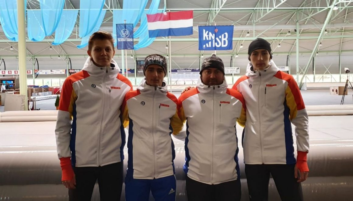 Patinatorii de la CSM Ploieşti, timpi mai buni la Cupa Mondială de Juniori de la Enschede