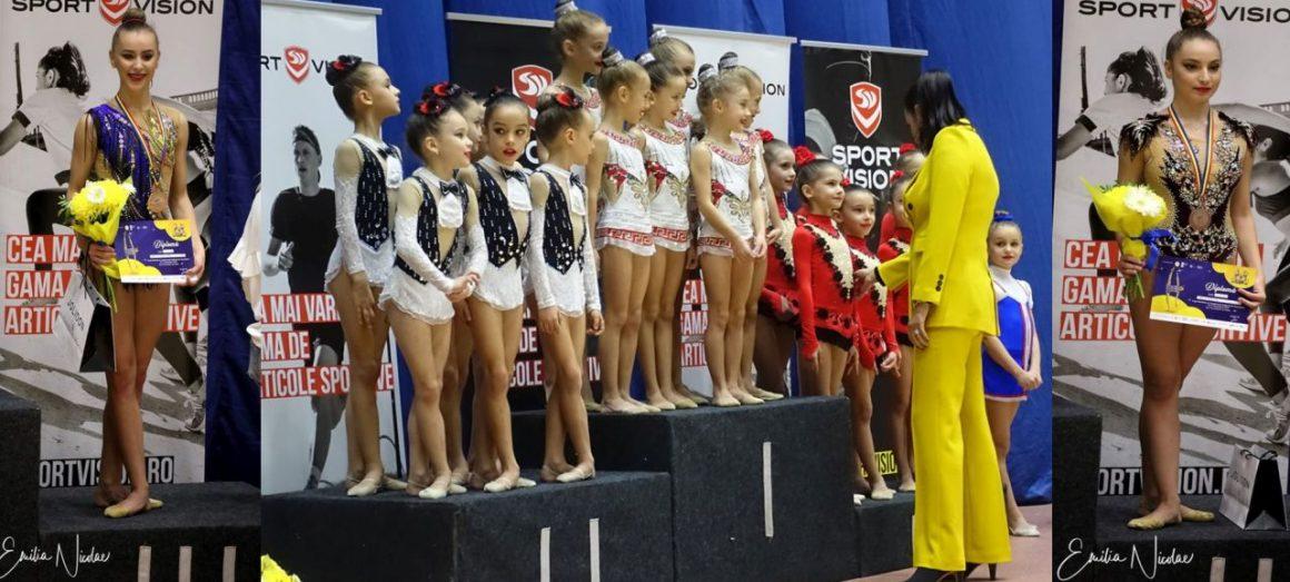 Gimnastele de la CSM Ploieşti, 3 medalii de bronz obţinute la Cupa României!
