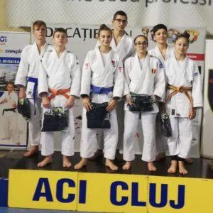 Sportivii de la CSM-CFR-CSŞ Ploieşti, argint la Cupa Campionilor la Judo pe echipe mixte!