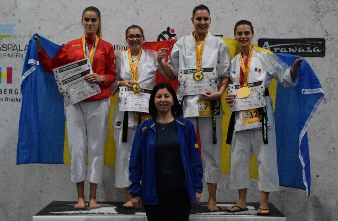 Sportivii de la CSM Ploieşti, 10 medalii obţinute la Campionatele Mondiale de Karate Fudokan!