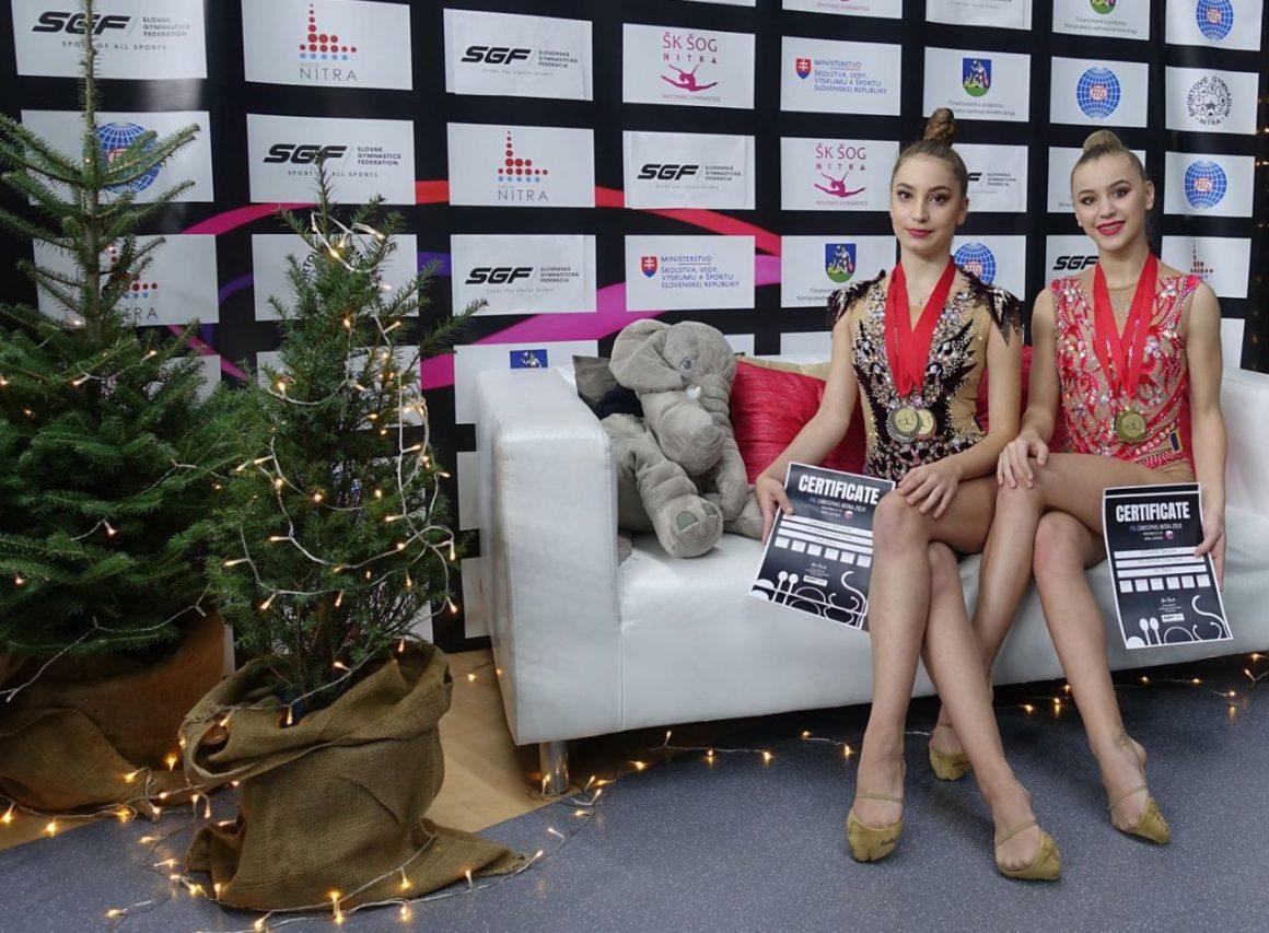 """Gimnastele de la CSM Ploieşti vin cu 6 medalii de la Turneul Internaţional FIG """"Christmas Nitra""""!"""