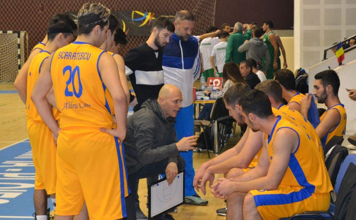 Înfrângere la CN Aurel Vlaicu pentru echipa de baschet masculin a clubului!