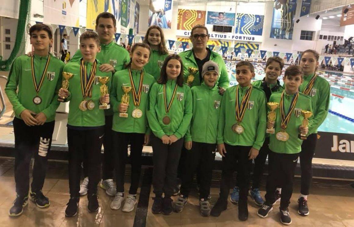Weekend cu 42 de medalii pentru înotătorii de la CSM Ploieşti!