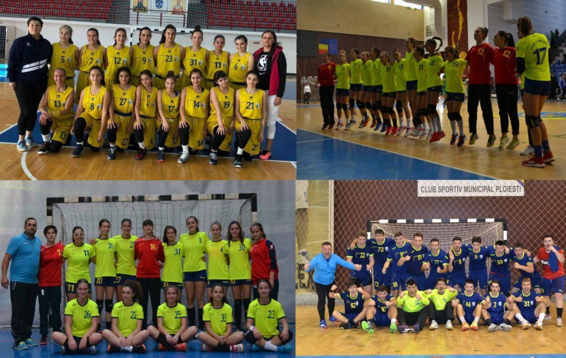 Trei zile cu handbal şi baschet în Sala Sporturilor Olimpia