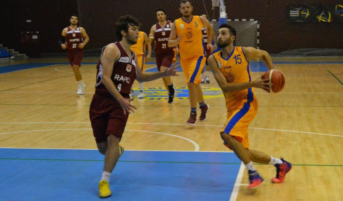 Înfrângere în Giuleşti pentru echipa de baschet masculin a CSM Ploieşti