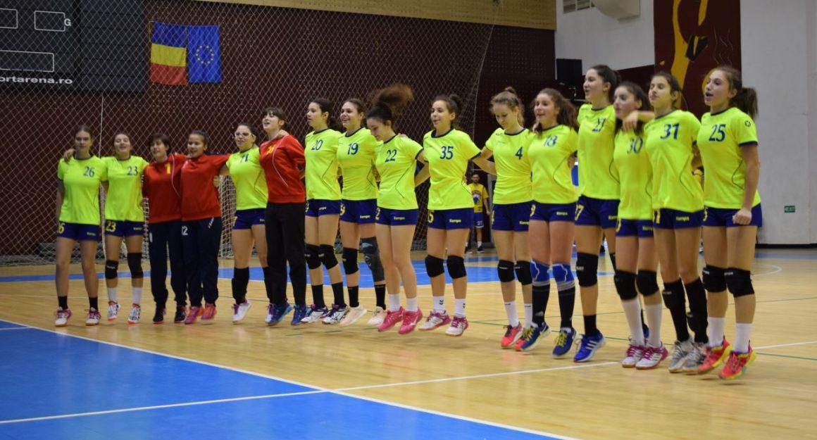 Echipa de handbal junioare 3 se menţine pe primul loc al Seriei D!