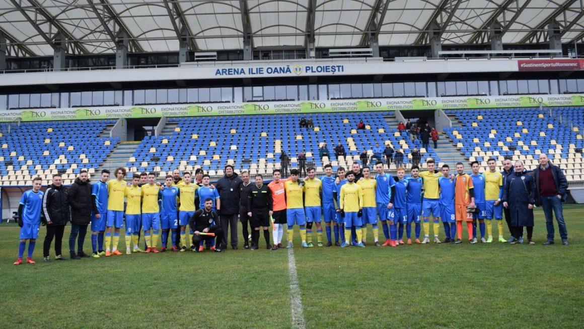 """Amical """"de gală"""" pe arena """"Ilie Oană"""" pentru echipele """"U19"""" ale CSM Ploieşti şi FC Petrolul Ploieşti!"""