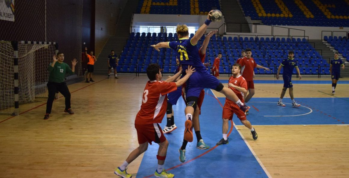 Echipa de handbal juniori 1, victorie clară la debutul în Grupa Valoare 2!