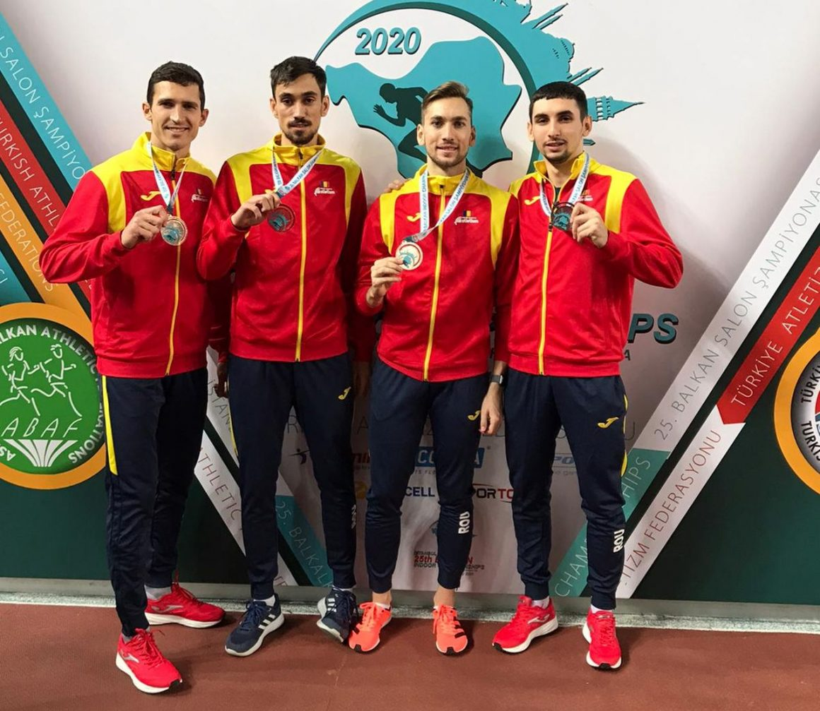 Atletul Constantin Andonii, bronz cu ştafeta României la Campionatele Balcanice de la Istanbul!