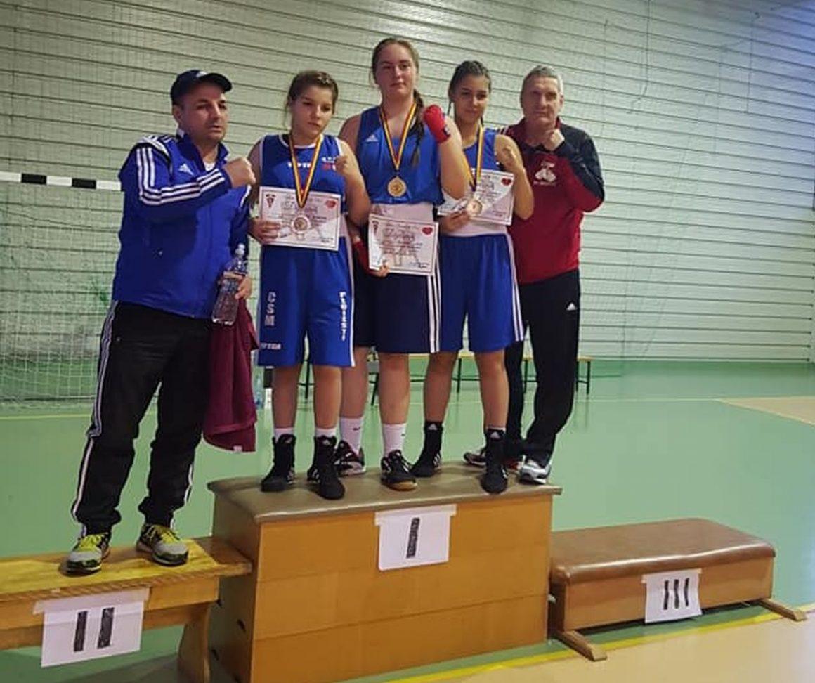 Şase sportive de la CSM Ploieşti luptă pentru medalii la Campionatul Naţional de Box feminin!