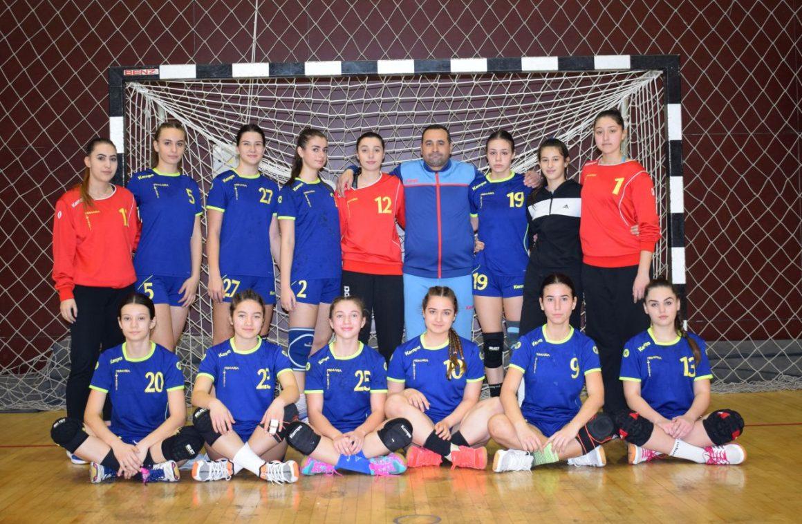 Echipa de handbal junioare 2, debut la Buzău în ediţia de campionat 2020-2021!