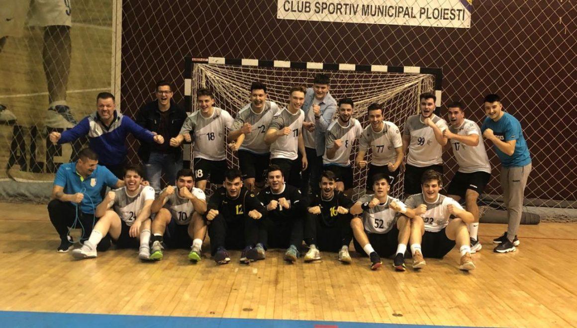Echipa de handbal masculin, la primul succes în Divizia A!