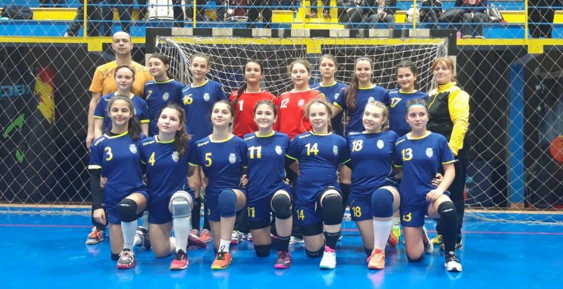 Echipa de handbal fete J4 s-a calificat pentru Faza pe euro-regiune a campionatului!