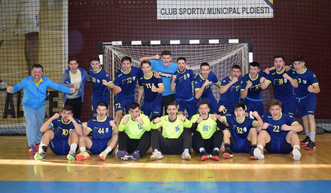 Echipa de handbal juniori 1, pas decisiv spre Turneul final al campionatului!