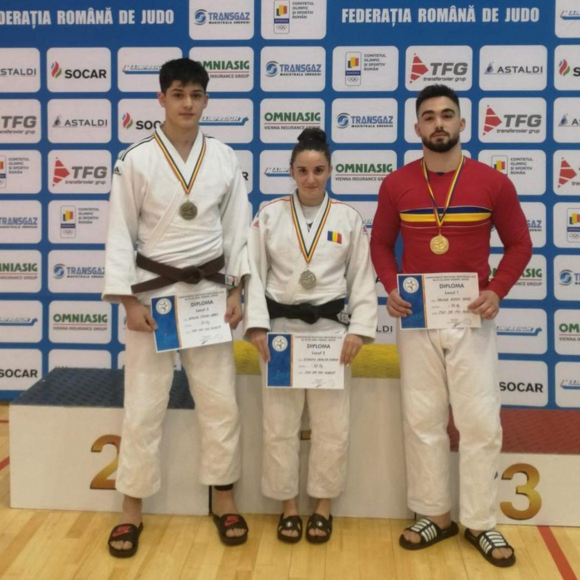 Weekend cu cinci medalii pentru judoka de la CSM-CFR-CSŞ Ploieşti!