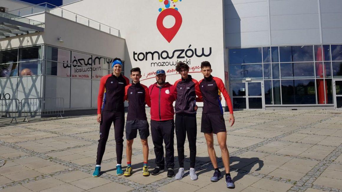 Stagiu de pregătire în Polonia pentru patinatorii de la CSM Ploieşti!