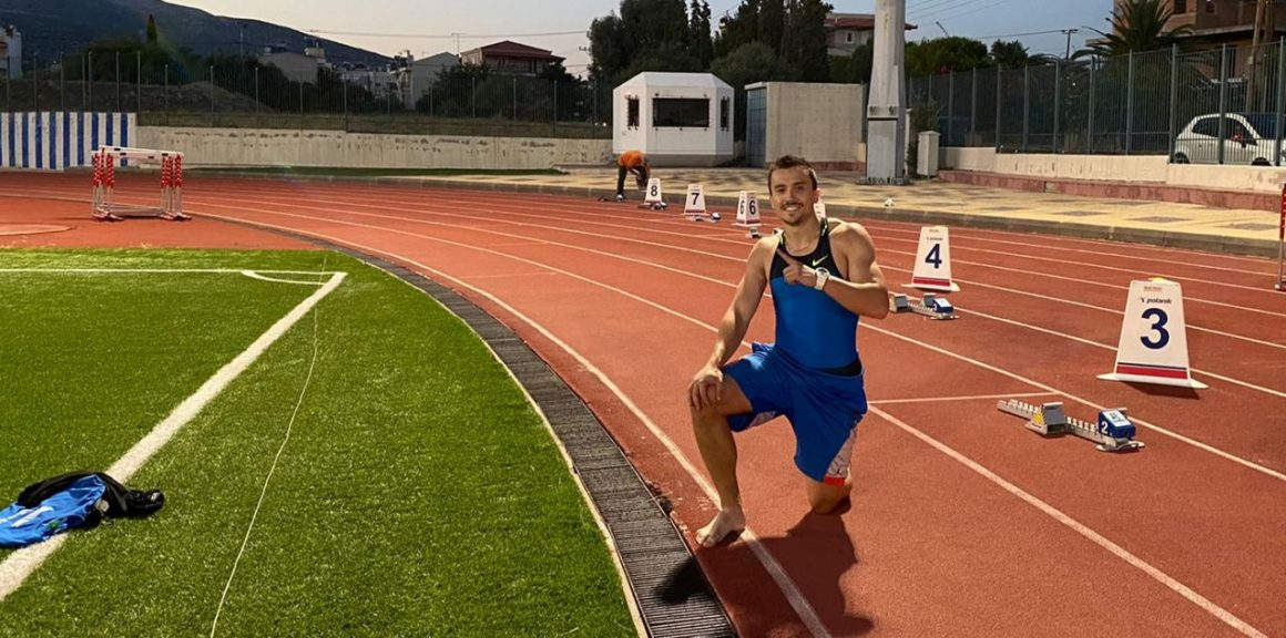 "Atletul Alexandru Terpezan, aur şi bronz la ""Dromia 2020 International Sprint & Relays Meeting""!"