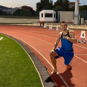 "Atletul Alexandru Terpezan, aur şi bronz la ""Dromia 2020 International Sprint & Relays Meeting""!"