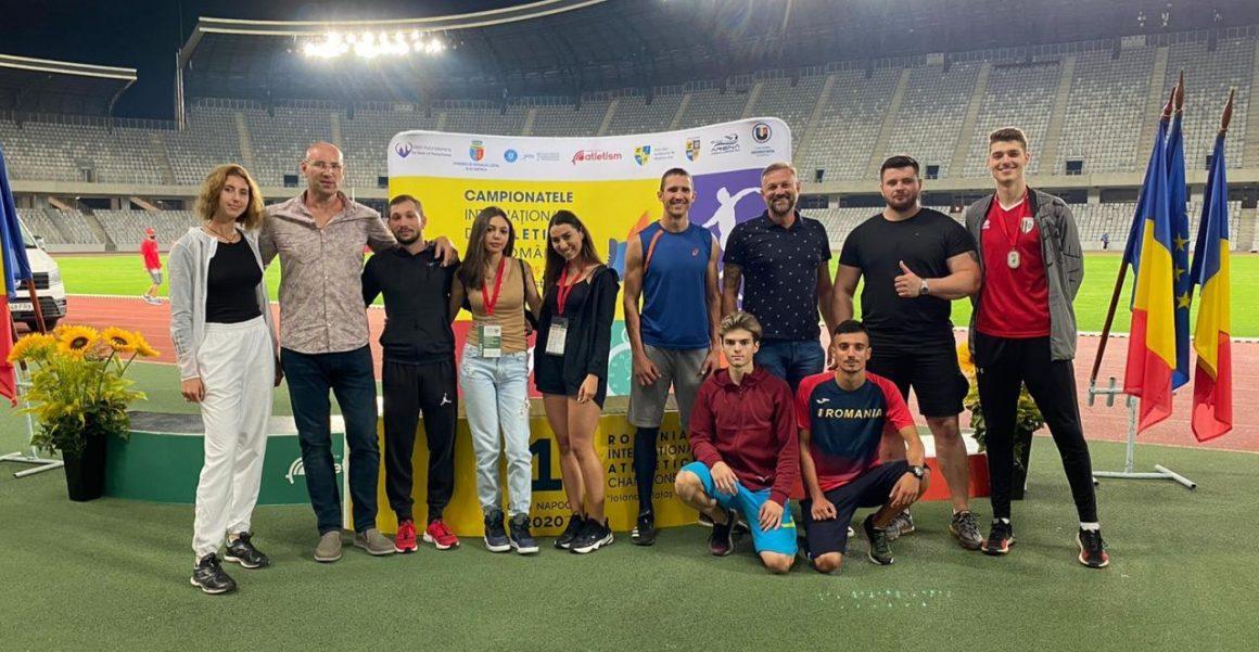 Atleţii de la CSM Ploieşti, opt medalii obţinute la Campionatele Internaţionale ale României!