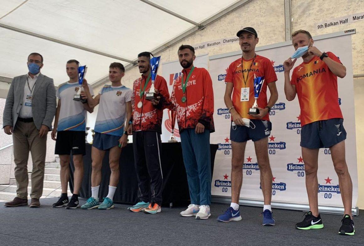 Atletul Marius Ionescu, bronz pentru România la Campionatul Balcanic de Semimaraton!