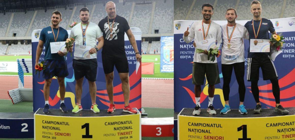 Atleţii Rareş Toader şi Petre Rezmiveş sunt campioni naţionali de seniori!
