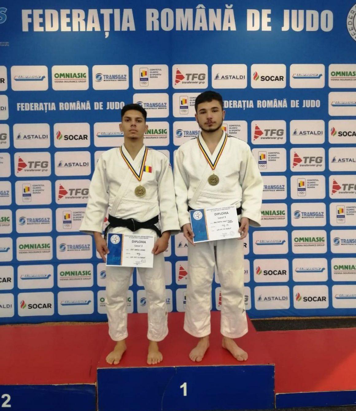 Judoka de la CSM-CFR-CSŞ Ploieşti, două medalii de bronz la Finala Campionatelor Naţionale pentru seniori!