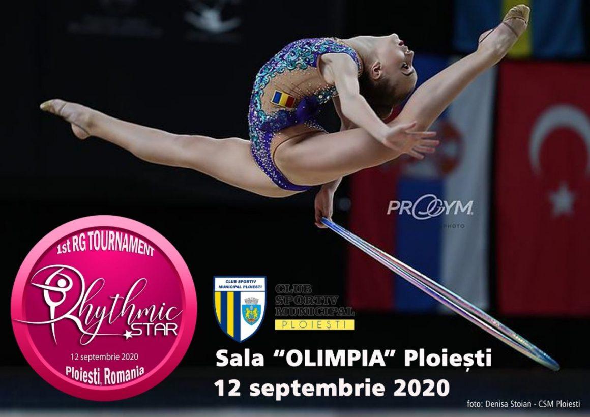 """Gimnastică ritmică: sâmbătă, în Sala """"Olimpia"""", Turneul Internaţional """"Rhythmic Star"""" – Ediţia I!"""