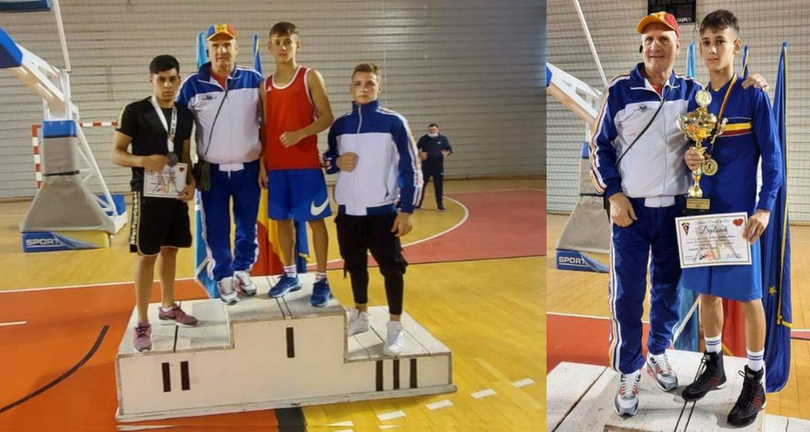 Boxerul Marian Ghinoiu, campion naţional de tineret, la Giurgiu!