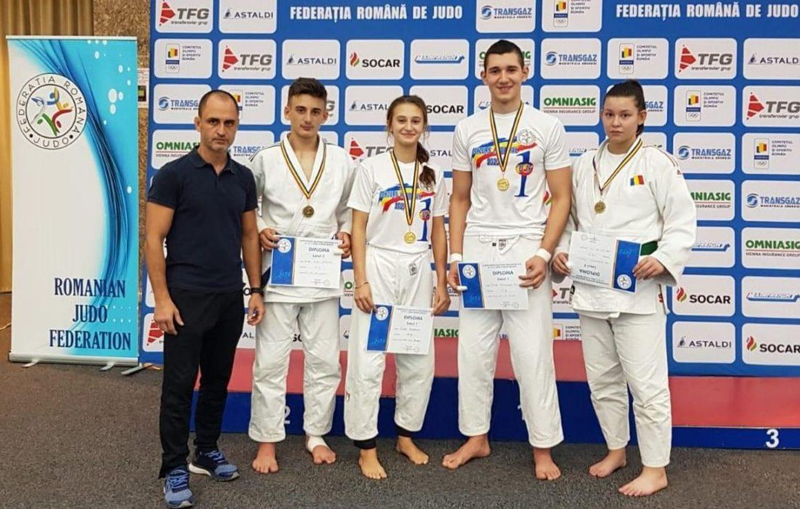Judoka de la CSM-CFR-CSŞ Ploieşti, 9 medalii obţinute, în weekend, la Poiana Braşov!